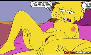 The simpsons Porno Com Sexo Anal Ao Extremo Da Novinha Gostosa